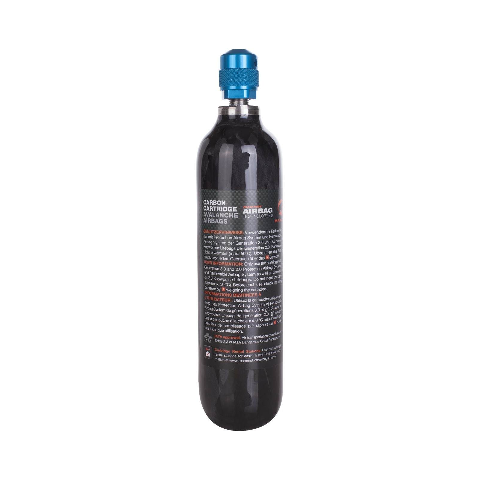 Карбонова бутилка Mammut Carbon Cartridge 300 BAR Non-refillable