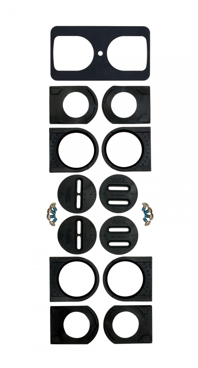 Комплект плочки за сплитборд автомати Voile