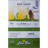 Карта Байк Турове, регион Банско - Разлог - Iskar Tour