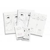 Шаблони за монтиране на DIY интерфейс Voile